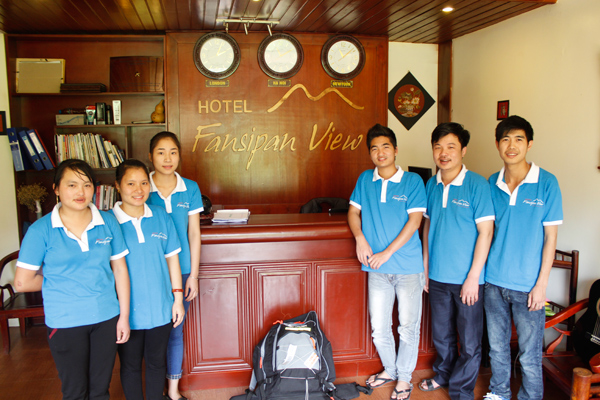 Fansipan View Hotel Staff